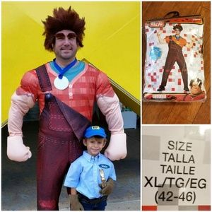 Wreck it Ralph Delux Costume Men XL